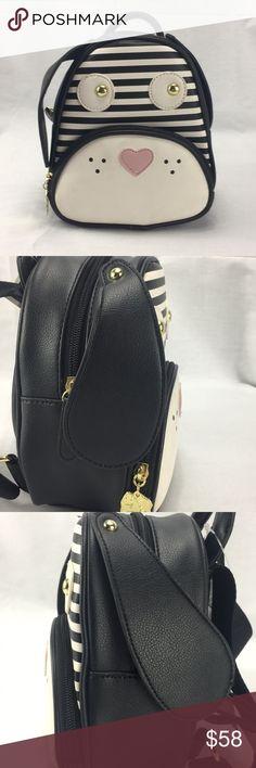 d9dd63312cdd NWT Luv Betsey Johnson Dog Mini Backpack NWT Luv Betsey Johnson Dog Mini  Backpack. Has