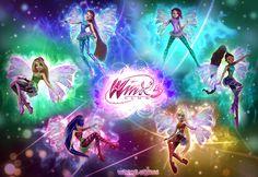 Wallpaper of Winx club Sirenix 3d for fans of The Winx Club Fairies.