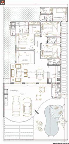 Casa 2 Quartos - 175.76m²