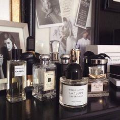 Chanel Coromandel, Byredo La Tulipe, Jo Malone, Tom Ford, Miss Dior   Perfume Collection   Fragrance