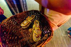 Casamento na praia - chinelos personalizados