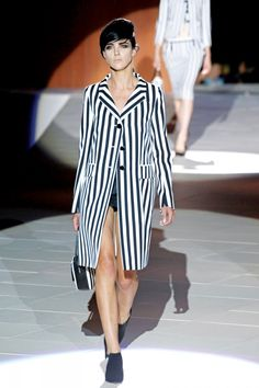 Spring Fashion 2013 Trend Stripes Marc Jacobs