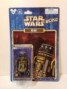 Star Wars May The 4th 2016 R5-M4 Droid Factory Astromech Mustafar Disney Parks #Hasbro