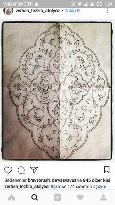 Islamic Art Pattern, Arabic Pattern, Pattern Drawing, Pattern Art, Embroidery Art, Embroidery Patterns, Arabesque, Illumination Art, Persian Motifs