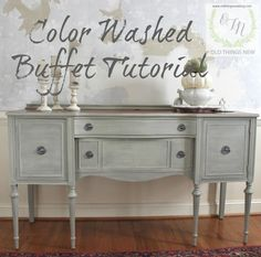 Color Washed Buffet