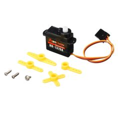 Power HD-1370A 0.6KG 3.7g  Micro Servo Steel Ring Engine Compatible with Futaba/JR RC Car Part