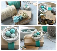 Nest gift topper tutorial