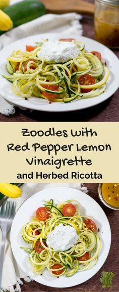 Summer Veggie Zoodle