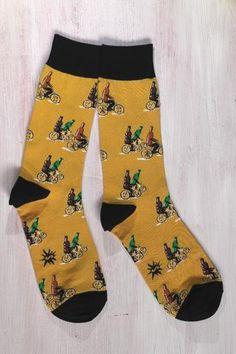 Pyöräilevät kaljapullot | Miesten sukat