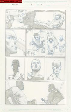 Kwan Chang :: For Sale Artwork :: Avengers # 2 by artist Jerome Opena