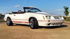Ford mustang foxbody 1984 gt350 anniversary