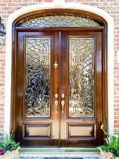 home decor 25 Main Entrance Door Design, Wooden Main Door Design, Wood Front Doors, Entry Doors, Oak Doors, Front Entry, Wooden Doors, Pooja Room Door Design, Door Design Interior