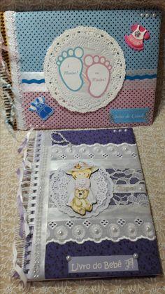 KIT: Diário  da Gravidez, Diário do Bebê. Entre no site para informações mais detalhadas. Atelier Di Gigi espera por você!