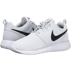 Nike Roshe Run Women's Shoes, White ($45) ❤ liked on Polyvore featuring shoes, athletic shoes, sneakers, nike, white, lace up shoes, white lace up shoes, lightweight shoes and cushioned shoes
