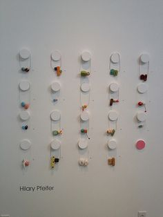 hilary pfeifer - I love this idea for display for a gallery show setting