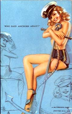 I've been wanting a classy navy pin up girl tattoo lately.