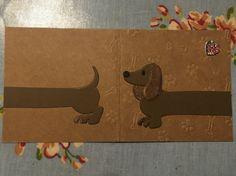 Marianne designs dachshund card