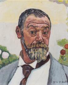 Ferdinand Hodler, (1853 - 1918)