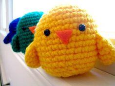 Mesmerizing Crochet an Amigurumi Rabbit Ideas. Lovely Crochet an Amigurumi Rabbit Ideas. Easter Crochet Patterns, Crochet Birds, Bird Patterns, Crochet Animals, Crochet Simple, Cute Crochet, Crochet Crafts, Crochet Projects, Crochet Ideas