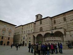 Piazza ⅣNovembre, Perugia,Umbria, Italia