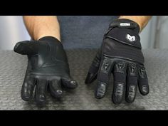 MotoCentric Assault Gloves | Motorcycle Superstore - YouTube