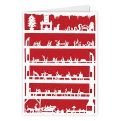 Santa's Workshop Card - by Lee Haydock