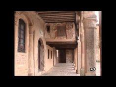 Vistas del casco antigüo de la ciudad de Medinaceli en la provincia de Soria. Este conjunto histórico está declarado como Bien de Interés Cultural.