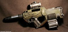 awesome nerf rayven mod and paint job