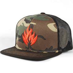 8a160c90ebe Black Label Camo Snapback Trucker Hat (Camo)  23.95 Snapback