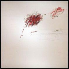 ART ET CHOCOLAT (Noir 70%) - Cy Twobly - Achille pleurant la mort de Patrocle http://carlottamontp.blogspot.fr/