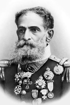 1. Deodoro de  Fonseca   La barba