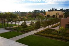 Overview of Luce Court & Legacy Plaza