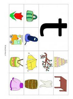 Download de pdf door op dit image te klikken Free Preschool, Preschool Worksheets, Letter School, Teachers Aide, School Posters, Letter J, Puzzles For Kids, Primary School, Learn English