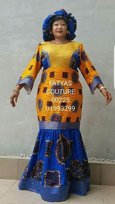 African Dresses For Women, African Attire, African Fashion Dresses, African Wear, African Women, African Blouses, African Lace, African Fabric, Nigerian Dress