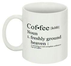 #Coffee mug following the classical form factor.