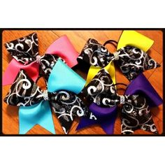 To order go to cheerbowsandbeyond@yahoo.com. Follow us on Instagram and Facebook at cheerbowsandbeyond.com.