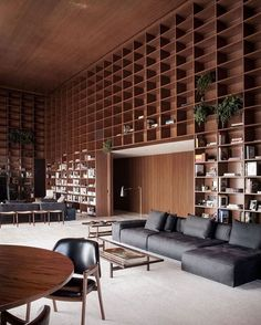 """2,598 Likes, 20 Comments - Interiors & Decoration (@finedecoration) on Instagram: """"SPenthouse in São Paulo by Studio MK27 #fineinteriors #interiors #interiordesign #architecture…"""""""