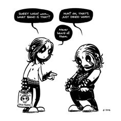10+ Adorable Black Metal Comics That'll Satisfy Your Dark Side