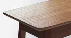 Brown Oak Console Table