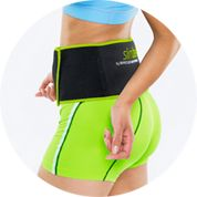 "Belly fat is hard to lose. But it's not impossible. Our award-winning fat burning system, Slim Belly, helps metabolize stubborn belly fat with its patented Airpressure Bodyforming Technology. Slim Belly gently massages stubborn fat layers in your midsection during exercise, increasing circulation and targeting your ""cold zones"". Slim Belly"