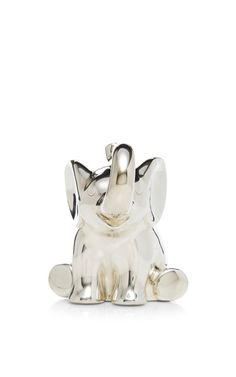 Sterling Silver Elephant Music Box by Asprey Now Available on Moda Operandi