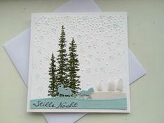 Weihnachtskarte-13-x-13-cm-Unikat-3-D-Stampin-Up-Handarbeit
