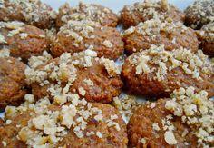 Melomakarona-Greek Christmas Honey Cookies #Christmas #Greek #Vegan