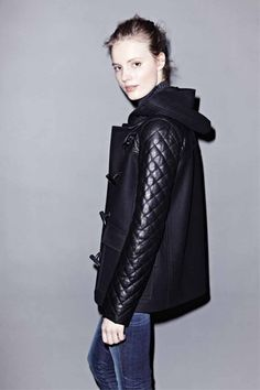 Awesome coat. Theory fall '12.
