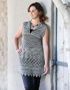 Crochet a lacey top | Hekel 'n kanttoppie #crochet #craft #DIY #pattern