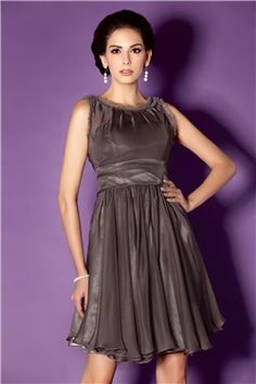 This A-Line Knee-Length Dress has enough elegance to be worn by a 40+ woman.  It also follows the 2/3 rule.
