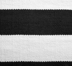 BLOCK-puuvillamatto 160 X 230 cm mustavalkoinen
