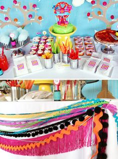 http://pagingsupermom.com/wp-content/uploads/2012/06/LalaloopsyPartyFoodIdeas.jpg. I LOVE THE BLACK THROWN IN!!!