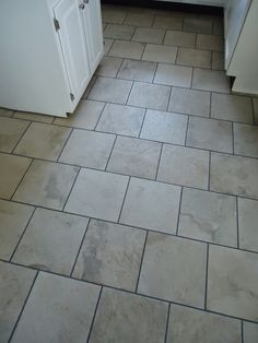 One Thrifty Space: Dying to Change the Color of Your Grout?