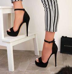 high heels – High Heels Daily Heels, stilettos and women's Shoes High Heels Boots, Lace Up Heels, Knee Boots, Heeled Boots, Strap Heels, Ankle Strap, High Heels Prom, Cool High Heels, Nice Heels